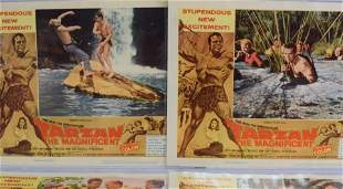 1960's ACTION FILMS LOBBY CARD, ETC COLLECTION: