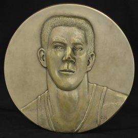 2: John Havlicek Basketball HOF Induction Plaque