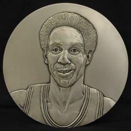4: Dave Bing Basketball HOF Induction Plaque