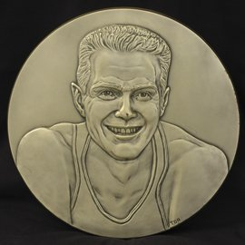 5: Tom Heinsohn Basketball HOF Induction Plaque