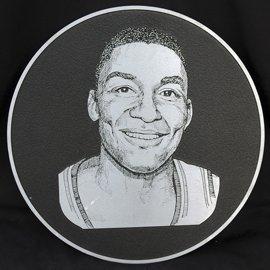 6: Isiah Thomas Basketball HOF Induction Plaque