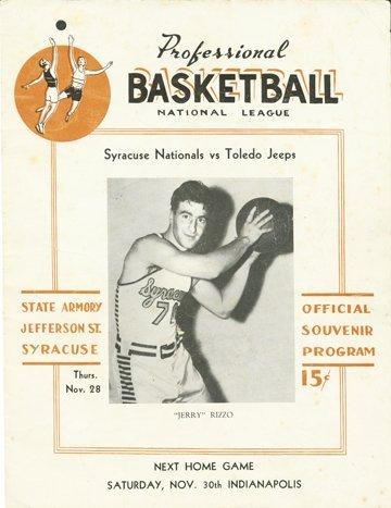 7: 1946 Syracuse Nationals Inaugural Program & Photo