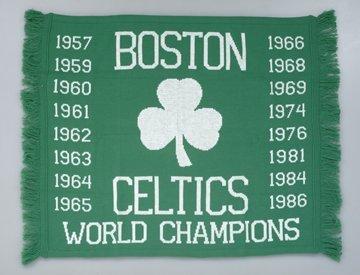 15: Boston Celtic World Championship Blanket