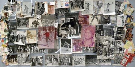 20: Marques Haynes Personal Photos, Tickets Etc.