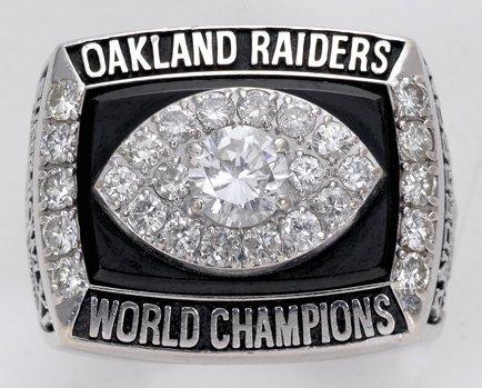 34: 1976 Raiders Super Bowl XI Championship Ring - 3