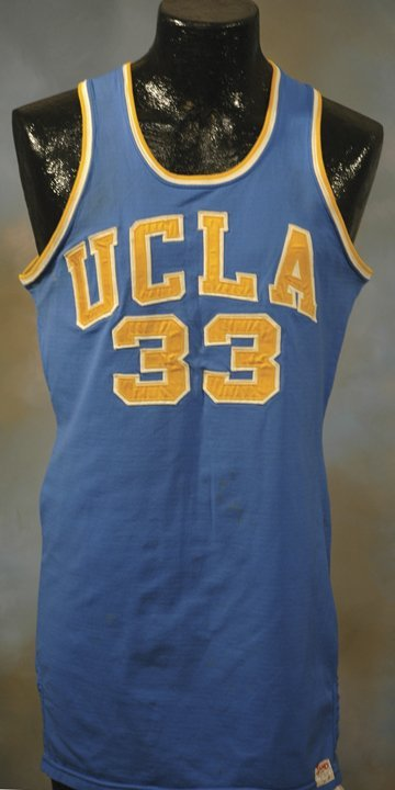43: 1960's Lew Alcindor UCLA Game-Used Road Jersey
