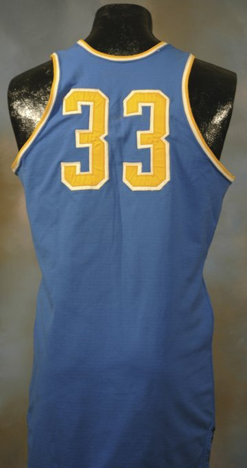 43: 1960's Lew Alcindor UCLA Game-Used Road Jersey - 2