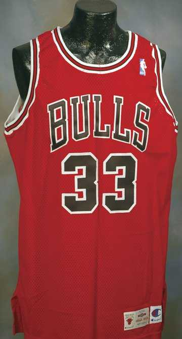 f36c3e8a324 86  1995-1996 Scottie Pippen Bulls Game-Used Jersey