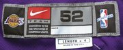 95: 2003-2004 Karl Malone Lakers Game-Used Jersey - 2