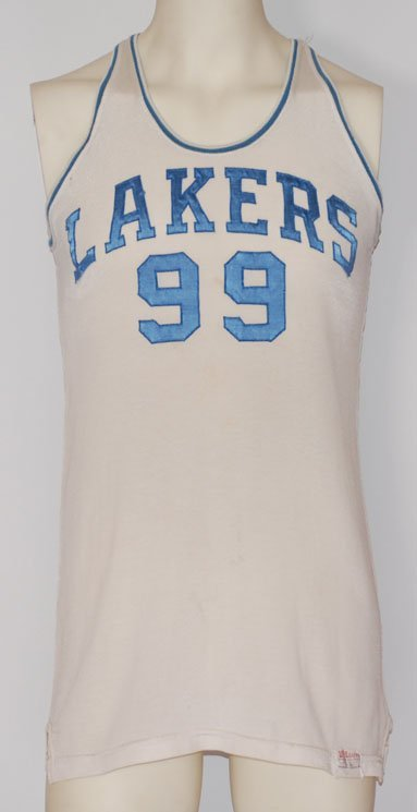 1: 1947-1948 George Mikan Minneapolis Lakers Game-Used