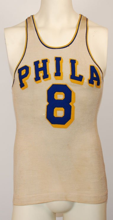 8: 1947-1948 George Senesky Philadelphia Warriors Game-