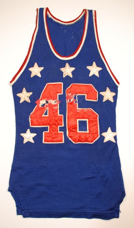 9: Late 1940s College All-Star Game-Used Uniform with B