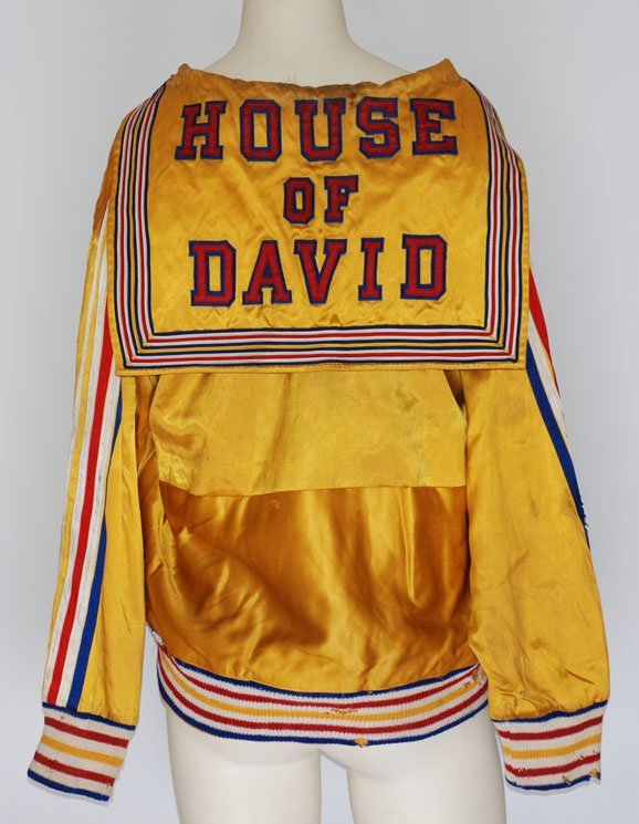 11: 1954 House of David Worn Warm-Up Jacket (Very Rare)