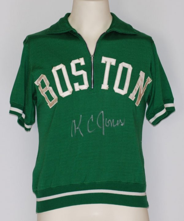23: Mid 1960s K.C. Jones Boston Celtics Game-Used & Aut