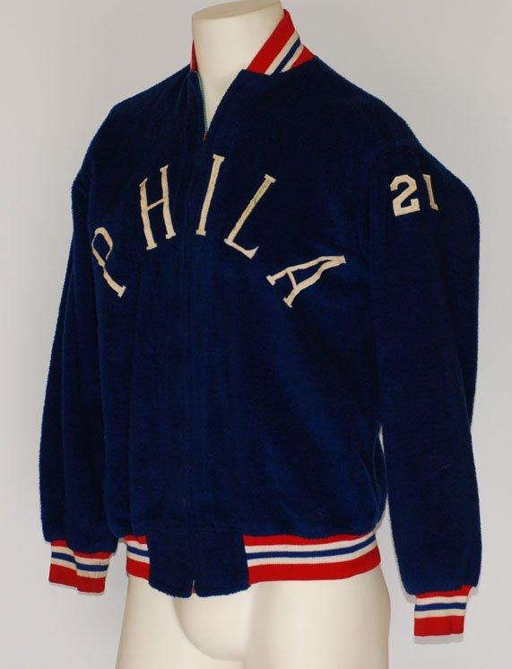 28: 1960s Larry Costello Philadelphia 76ers Worn & Auto