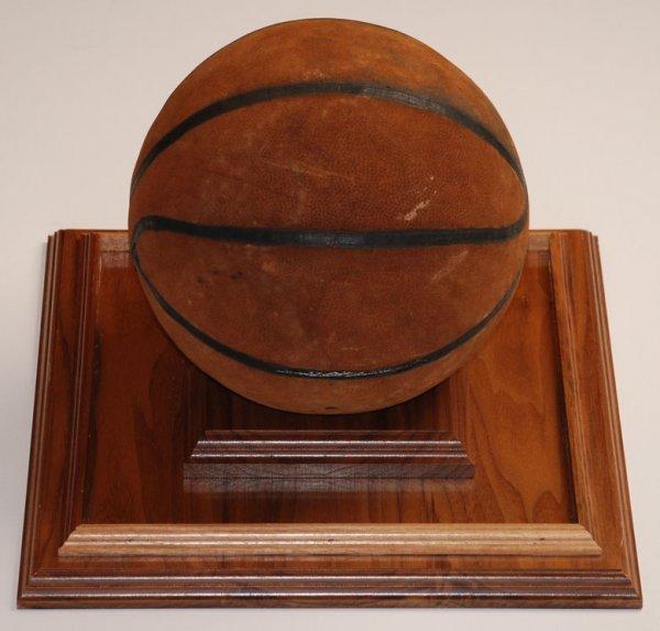32: 3/2/1962 Basketball Attributed To Wilt Chamberlain'