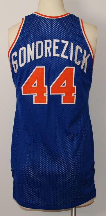 45: 1970s Glen Gondrezick NY Knicks Game-Used Jersey, S