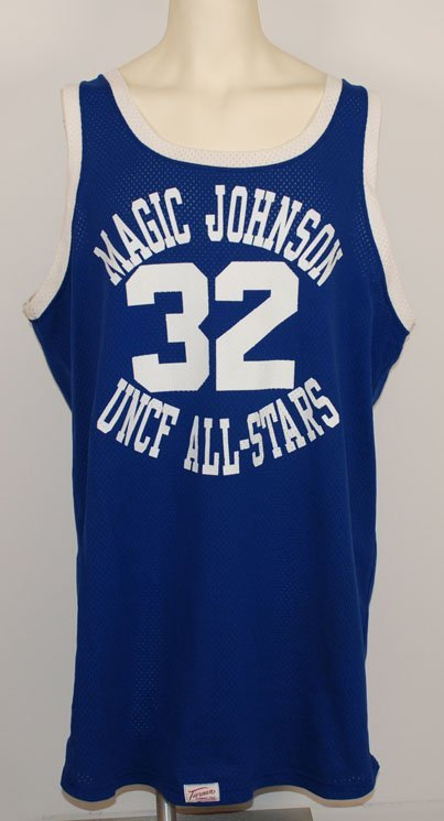 176: 1990s Shaquille O'Neal UNCF Magic Johnson All-Star - 2