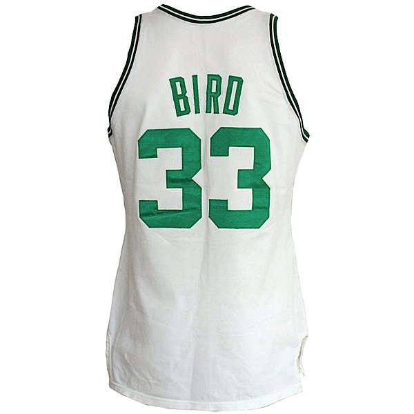 2: 87-88 Larry Bird Celtics Game-Used Home Jersey
