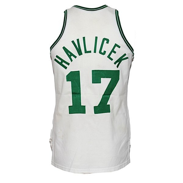 3: 1974-75 John Havlicek Celtics Game-Used Home Jersey