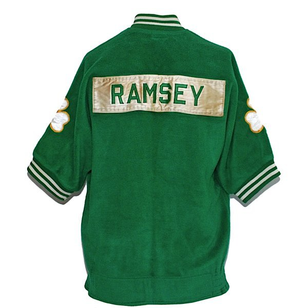 4: Early 1960s Frank Ramsey Boston Celtics Road Fleece