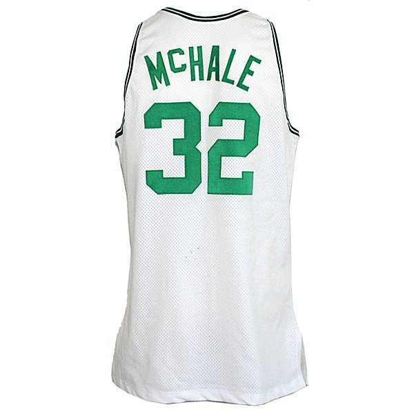 5: 1991-92 Kevin McHale Celtics Game-Used Home Jersey