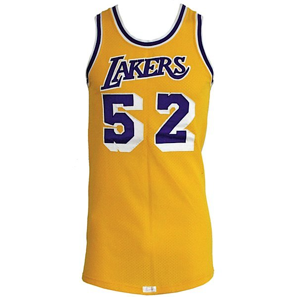 13: Early 80s Jamaal Wilkes LA Lakers Game-Used Jersey