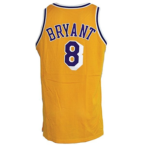 14: 98-99 Kobe Bryant LA Lakers Game-Used Jersey