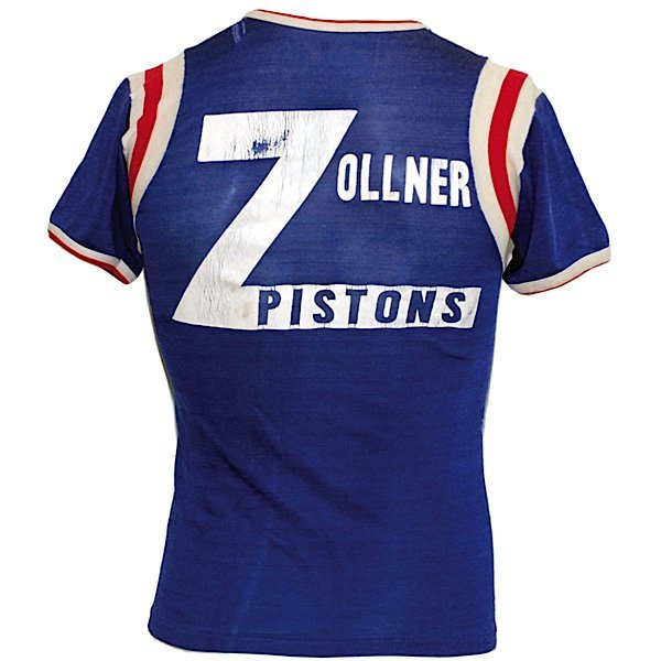20: 1940s Fort Wayne Zollner Pistons Shooting Shirt