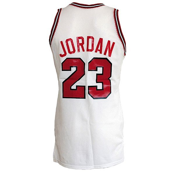 24: 1986-87 Michael Jordan Bulls Game-Used Home Jersey