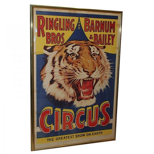 1: Ringling Brothers Barnum & Bailey Circus Poster
