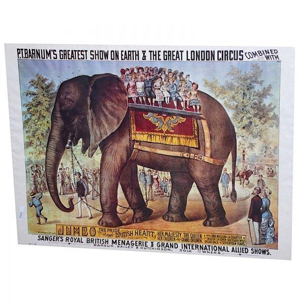 5: P.T. Barnum Circus Poster