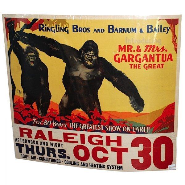 11: 1940s Ringling Brothers Gargantua the Great Circus