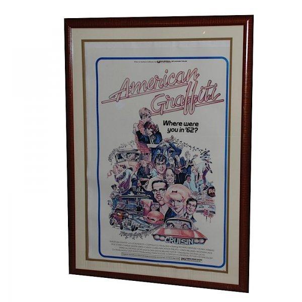 """19: """"American Graffiti"""" Framed Poster"""