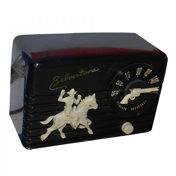 22: 1951 Hop-a-Long Radio by Silvertone
