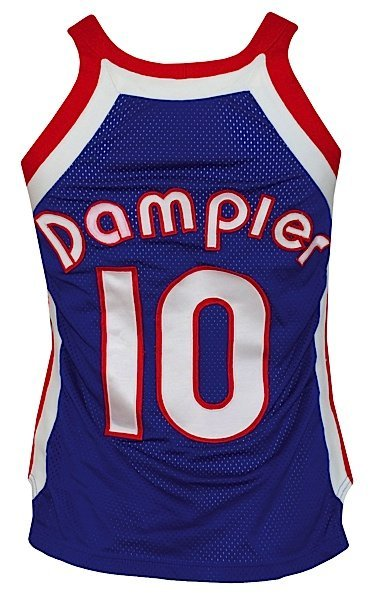 1975-1976 Louie Dampier ABA Kentucky Colonels Game-Used