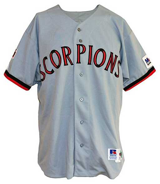dc948595a73f 1994 Michael Jordan Scottsdale Scorpions Game-Used Comp