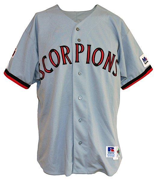 1994 Michael Jordan Scottsdale Scorpions Game-Used Comp