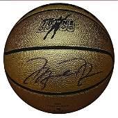 "Michael Jordan ""Mr. June"" Autographed Limited Edition B"