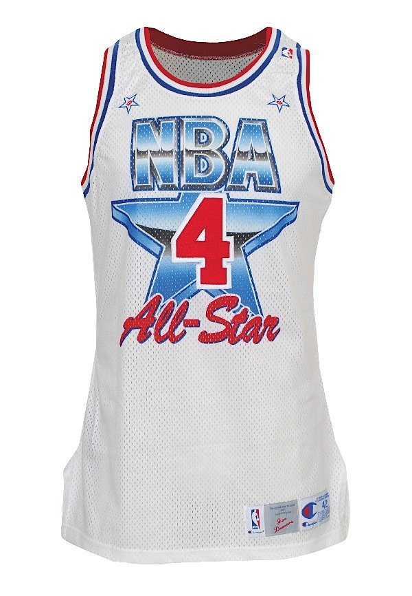 3: 1991 Joe Dumars NBA All-Star Game-Used Eastern Confe