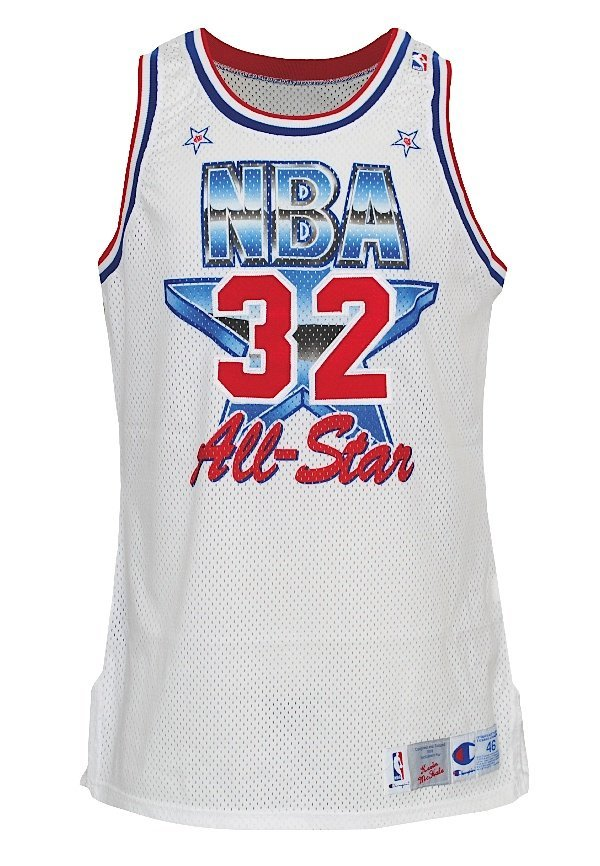 6: 1991 Kevin McHale NBA All-Star Game-Used Eastern Con