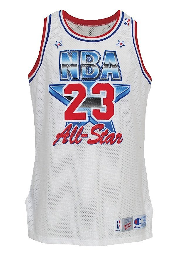 9: 1991 Michael Jordan NBA All-Star Game-Used Eastern C
