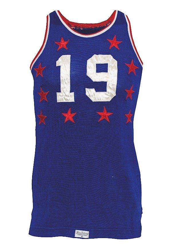 15: 1951 Vern Mikkelsen NBA Western Conference All-Star
