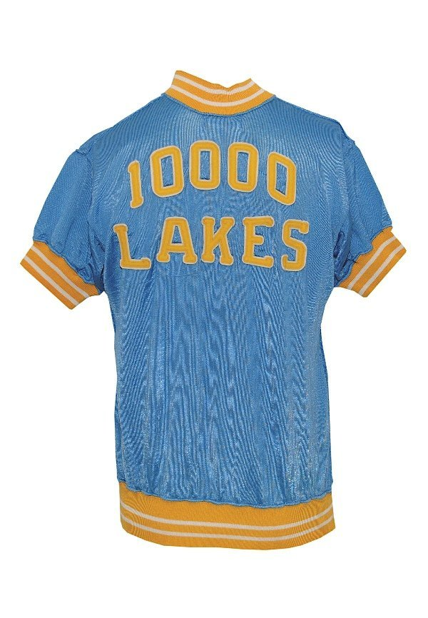 17: Early 1950's Vern Mikkelsen Minneapolis Lakers Worn