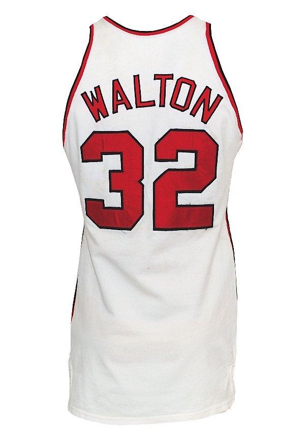 75: 1974-75 Bill Walton Rookie Portland Trailblazers Ga