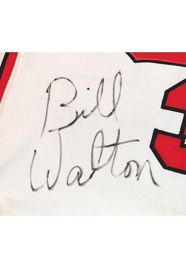 75: 1974-75 Bill Walton Rookie Portland Trailblazers Ga - 7