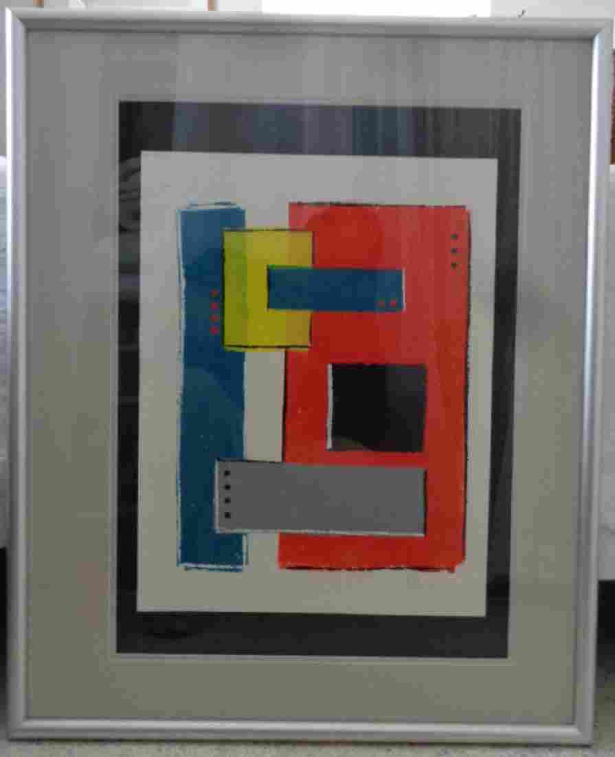 Original Abstract Modern Painting signed