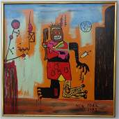 Large Contemporary Modern Original Fine Art Painting on
