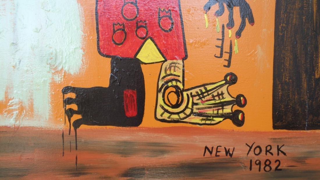 Large Contemporary Modern Original Fine Art Painting on - 3