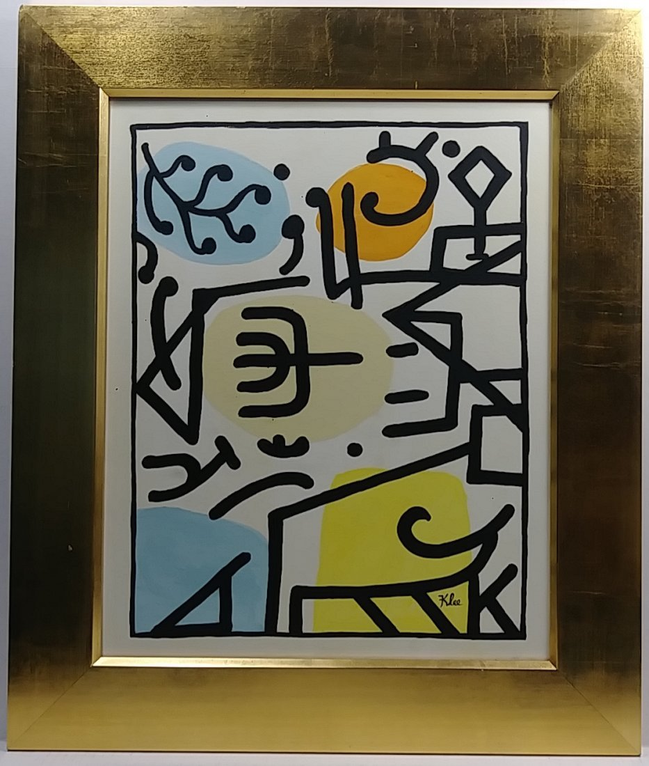 Paul Klee (Swiss,1879-1940) Abstract Composition